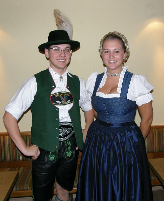 die Jugendleiter Markus Gromes und Veronika Pastötter